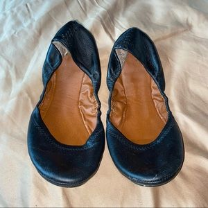 Lucky Brand leather ballet flats Women's size 10